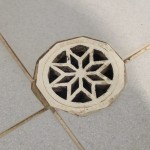 Missing grouts at the Floor waste or a compromised seal to the waste outlet